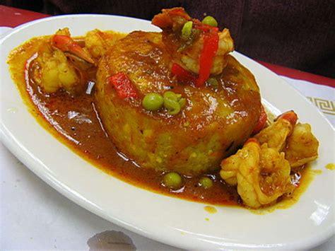 mofongo recipe viejuco s mofongo de camarones plantain mofongo wrapped with skirt steak and shrimps topped