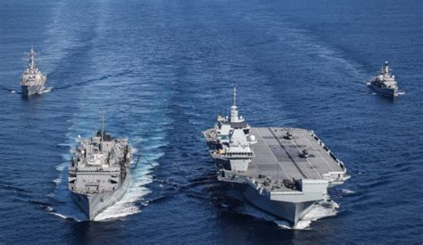 Royal Navy's carrier strike group achieves initial ...