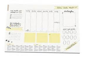 schreibtischunterlage design schreibtischunterlage schöne woche macher schlichtes kallirafie design aus papier a3 25 bl
