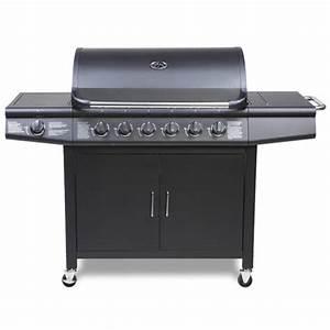 Taino Gasgrill 6 1 : taino pro gasgrill bbq grillwagen 6 edelstahl brenner seitenkocher schwarz grill ebay ~ Sanjose-hotels-ca.com Haus und Dekorationen