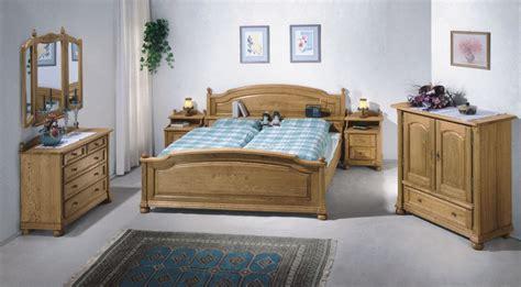 Schlafzimmer Weissensee, Eiche Massiv Klassische Möbel Und