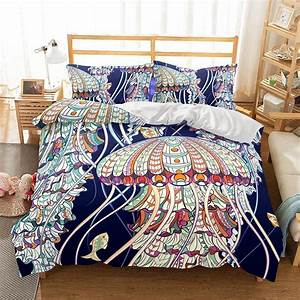 3d, Natural, Scenery, Jellyfish, Printed, Bedding, Sets, Bedding