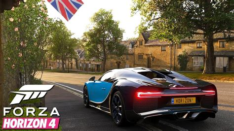 I hope it makes it to the future games. Forza Horizon 4 - First 20 minutes of Gameplay w/ Bugatti Chiron - YouTube