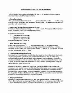 it consulting contract template - sample consulting contract