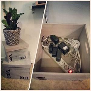 Hifi Kabel Verstecken : sieht aus wie deko holzkisten als kabelversteck kabel verstecken pinterest kabelsalat ~ Markanthonyermac.com Haus und Dekorationen