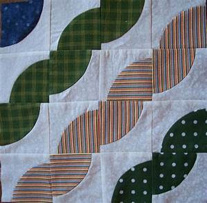 You have to see Drunkards Path quilt block of the month by