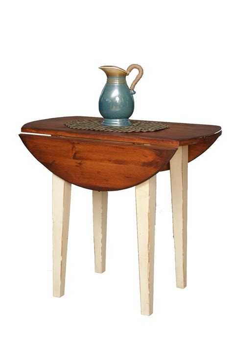 3 foot round table 3 foot amish handcrafted round harvest table with drop