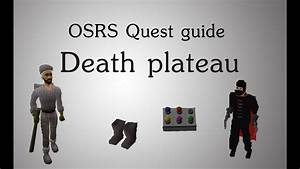 Osrs  Death Plateau Quest Guide