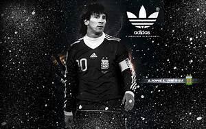 Lionel Messi For Adidas Monochrome Wallpaper 1280×800 ...