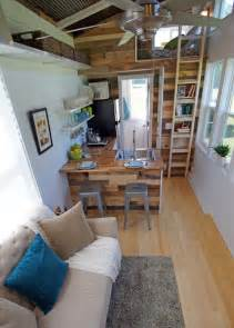 pictures of small homes interior brightly colored tiny house on wheels called the yosemite