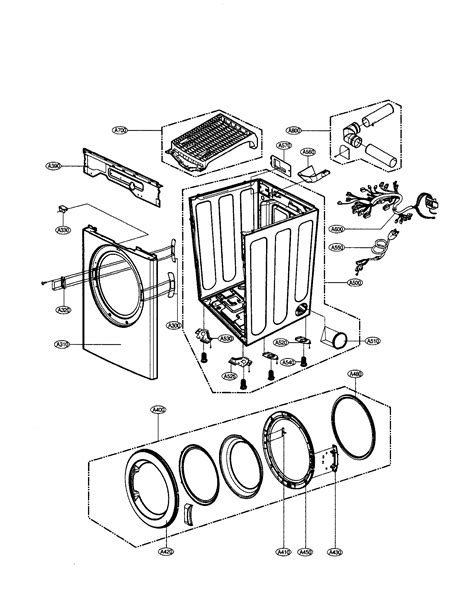 lg dlgw dryer parts sears partsdirect