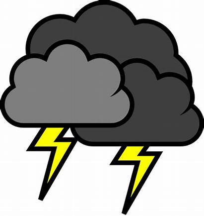 Lightning Clipart Cloud Clipground