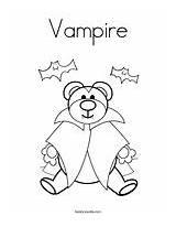 Coloring Vampire Casket Template Sheets Halloween Twistynoodle sketch template