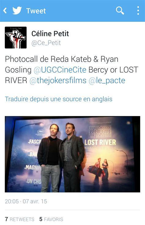 reda kateb lost river photocall ryan gosling reda kateb lost river premier film