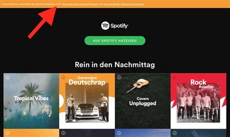 Spotify unterstützt Safari nicht mehr  News MacTechNewsde