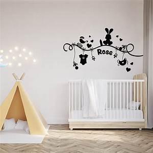 stickers prenoms muraux With déco chambre bébé pas cher avec envoyer des fleurs aujourd hui