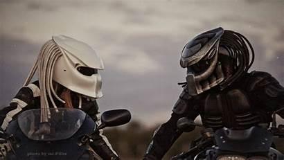 Helmets Motorcycle Coolest Sick Head Predator Dudeiwantthat