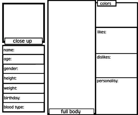 oc template blank oc ref sheet by sh3rryb3ar on deviantart