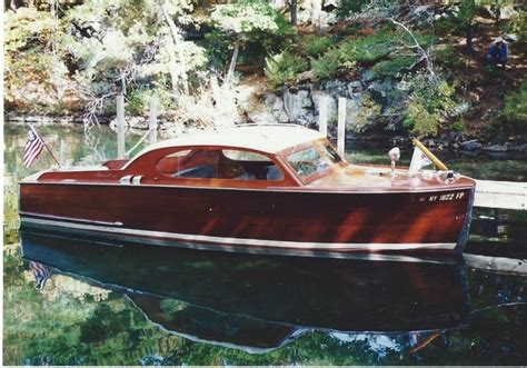 Used Boats For Sale Upstate Ny by Chris Craft Ladyben Classic Wooden Boats For Sale