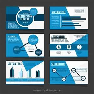 Modelo de apresentação do negócio em tons de azul | Baixar ...