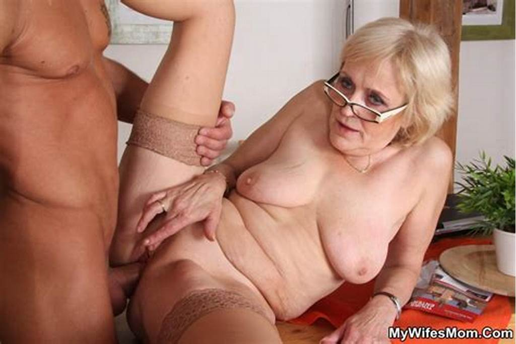 #Granny #Happens #To #Be #Crazy #About #Porn #And #When #He #Finds