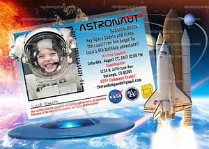 DIY Astronaut Invitation, Astronaut Party, Alien Invite ...