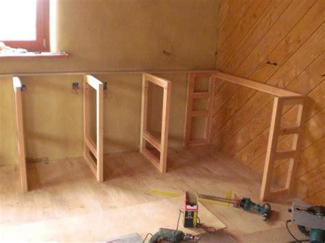 fabriquer meuble cuisine plan de cuisine bois plan de travail cuisine en quartz
