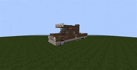 minecraft pickup truck pickup truck with house minecraft project