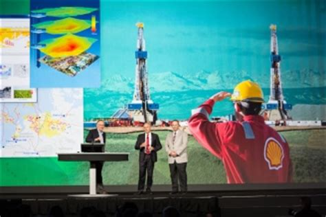 royal dutch shell relies  gis   decisions related