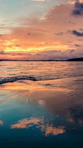 wallpaper sunset sky clouds 4k nature 16131