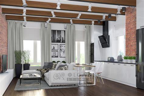 Popular Living Room Colors 2016 modern loft style living room design ideas of 2015