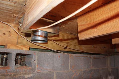 fix squeaky floors crawl space repair floor joist steps to repair deck and joists at