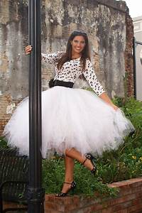 Tuto Tutu Tulle : tulle skirt in tea length this tutu skirt is perfect for ~ Dode.kayakingforconservation.com Idées de Décoration