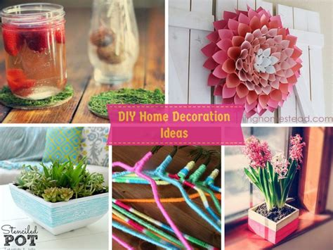 6 Diy Home Decoration Ideas In Your Budget