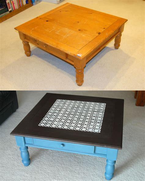 Painted Coffee Table Is Like Modern Fashion  Coffee Table