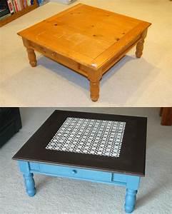painted coffee table is like modern fashion coffee table With coffee table chalk paint ideas