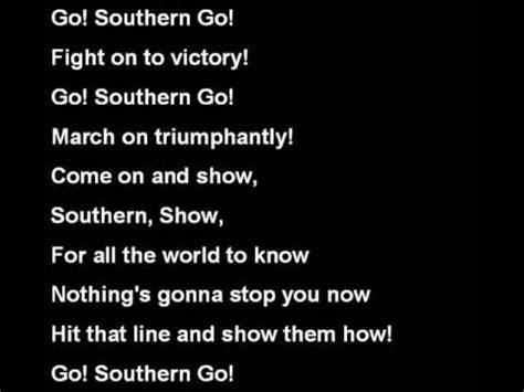 southern illinois university salukis fight song youtube