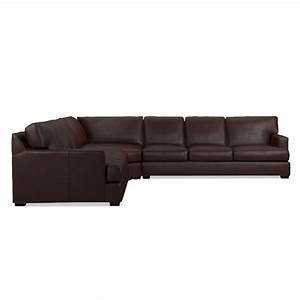 jackson 3 piece l shaped leather wedge sofa sectional With 3 piece sectional sofa with wedge