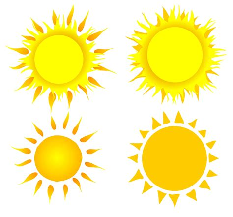 4 Clipart Sun (PNG Transparent) | OnlyGFX.com