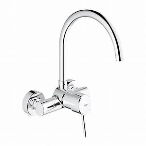 Grohe Concetto Küchenarmatur : grohe concetto wall mounted single lever kitchen mixer 1 2 buy online in hong kong ~ Watch28wear.com Haus und Dekorationen