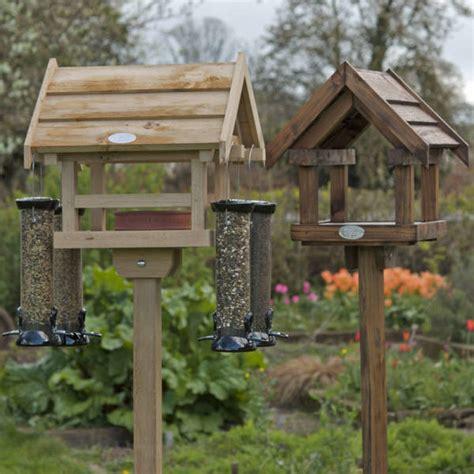 wooden bird feeder station birdcage design ideas
