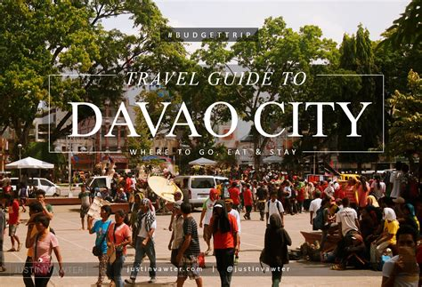 davao city budget travel guide    eat  stay
