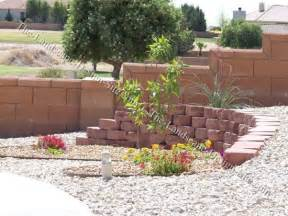 Xeriscape Front Yard Retaining Wall Ideas