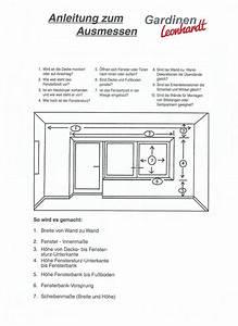 Fenster Richtig Ausmessen : ihr gardinenfachgesch ft downloads ~ Watch28wear.com Haus und Dekorationen