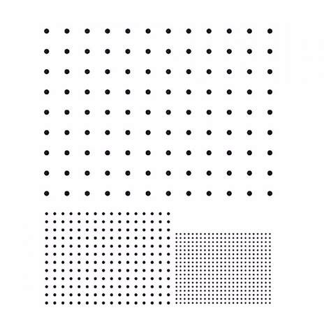 R76 Dot Array Grid