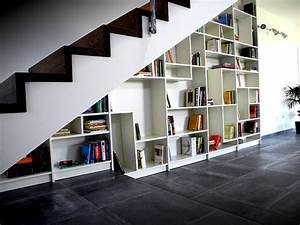"""Sgantina"" - Under stairs Billy Bookshelves - IKEA Hackers"