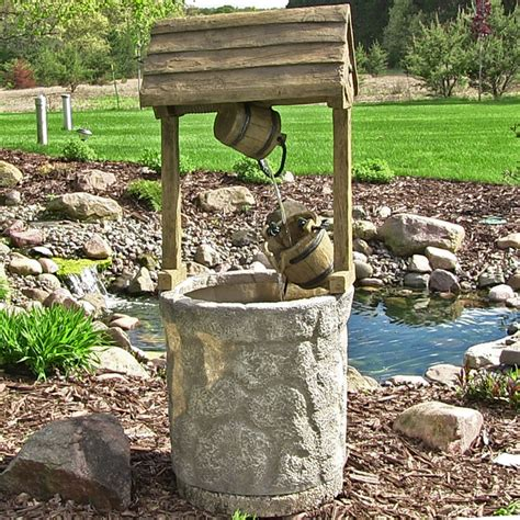 outdoor classics american wishing well outdoor fountain