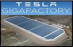 tesla picks nevada  gigafactory market business news