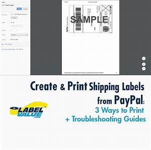 How to create print paypal shipping labels 3 ways to for Create and print shipping label