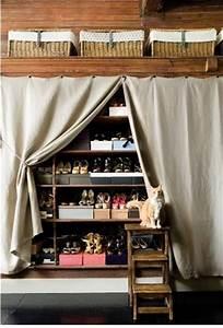 Idee Rangement Chaussure : 39 bonnes id es pour ranger ses chaussures ~ Teatrodelosmanantiales.com Idées de Décoration